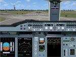 FSX                   Airbus A-380 panel.
