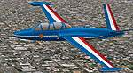Patrouille                   de France (Aerobatic Team) Aerospatiale (Fouga) CM170 Magister.