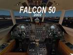 FS2002pro                     - Falcon 50 CAEA version 2002