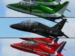 FS2004                   'Red Arrows', 'Black Seahawks' and 'Saudi Hawks' Panel Fix