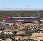 FS2004/FS2002                   De Havilland DH-114 Heron, Aero Shell Textures only