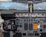 FS2004                   BAE-146 Photoreal Panel