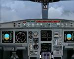 FS2004                   - Photoreal Airbus A-330 Panel