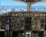 FS2004                   Boeing 757-200 Photoreal Panel