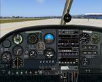 FS2004                   PA-28 Piper Cherokee 140 Photoreal Panel.