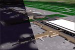 Houston                   George Bush Intercontinental Airport scenery for FS2000