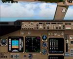 FS2004                   iFly B747-400 2D Panel Upgrade
