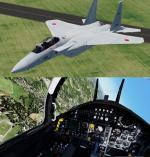 FSX/P3D Iris F-15 FSX native JASDF Pack