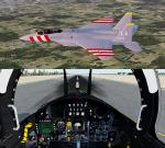 Iris F-15 package FSX native Pack 8 for P3D and FSX