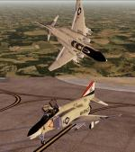 McDonnell Douglas F-4 Phantom II Marines/Navy Pack 2 for P3D/FSX