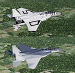 FSX/P3D Iris F-15 package FSX native USAF Pack 4