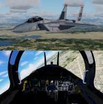 FSX/P3D Iris F-15D package FSX native USAF Pack 3