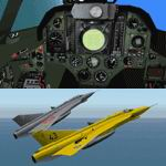 FS2004                   Saab J 35J Draken 2.41 Full Package