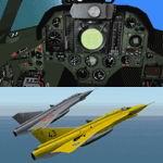 FS2004                   Saab J 35J Draken 2.41 Full Package