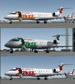 FSX/P3D >v4 Bombardier CRJ-200 Air Canada Jazz 4 livery package