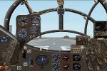 FS                   2000 JU-188 WWII Twin Engine Fighter aircraft and panel