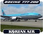 Boeing 777-200 Korean Air