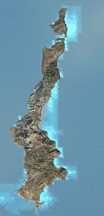 Karpathos photoreal scenery, Greece