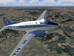 FS2004                   de Havilland DH104 Sabena Textures only.