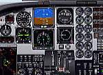 FS2000                   Beech King Air IFR Panel.
