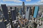 FS2004                     Downtown Los Angeles Area Scenery Package