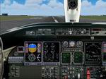 FS2004                   LearJet 45 Panel.