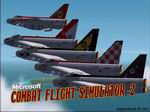 CFS2             SplashScreen. Anglo-Virtual Aviations' RAF English Electric Lightnings             'Legends Formation'