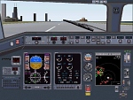 FS2000                   Lear Jet R-145 panel