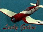 "Repaint             of Cook Cleland's Corsair ""Lucky Gallon"""