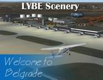 FS2004                   LYBE 3.1 Belgrade Airport Scenery Package