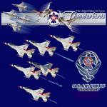 Aerosoft F-16C USAF Thunderbirds Textures