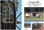 Manual/Checklist -- Cessna 185 on wheels.