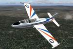 FS2004                   Aircraft Aermacchi MB326H A7-047. Version 1.0