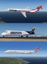 P3D4.5 + McDonnell Douglas MD8X pack 1