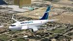 FS2004:                   WestJet Textures for 737 Experience