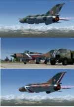 FSX/P3D MiG-21 MF Multi Livery Pack 1