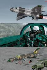 FSX/P3D MiG-21 MF Multi Livery Pack 2