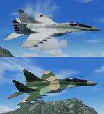 Iris Mikoyan MIG-29 Fulcrum Czech Air Force and Cuban Air Force twin Pack
