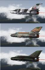 FSX/P3D MiG-21 MF Multi Livery Pack 3