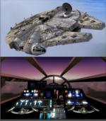 FSX/P3D Millennium Falcon Package with Docking Station