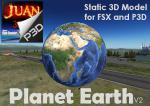 Planet Earth's static 3D model v2 - FSX/P3D