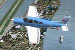 FS2002                  / FS2004 Piper PA-28 Cherokee G-ATHR Britannia Flying Club Textures                  only.