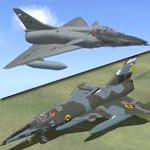 FS2004                     Dassault Mirage 5 and 5 Modernized Package