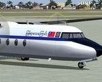 FS2004                   Myanma Airways Fokker F27-500 XY-AEV.