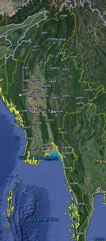 FSX Myanmar Airfield Locator