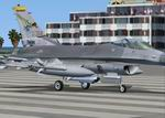 FSX/FS2004                   F-16C Viper New Mexico ANG's (National Guard) textures only