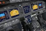 Boeing 737-800 Panel with trinkets