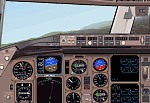 FS2000                     panel for the Boeing 757 & 767