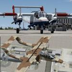 P3D V3 & 4 / FSX Rockwell OV-10D USMC and Civil Air Patrol twin package