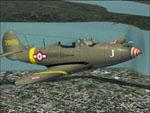 Bell P39 N Airacobra